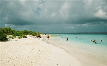 beach at Klein Bonaire