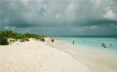 beach at Klein Bonaire