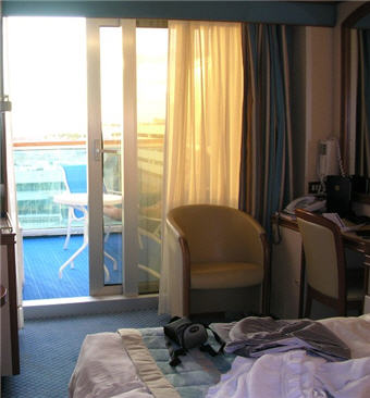 cabin on Emerald Princess