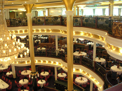Freedom of the Seas dining room