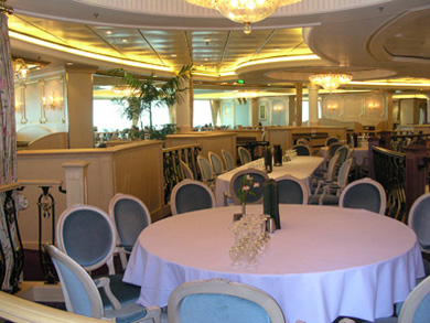 Upper Dining Room on Freedom of the Seas