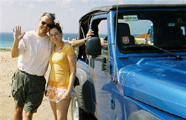 jeep rental in Aruba