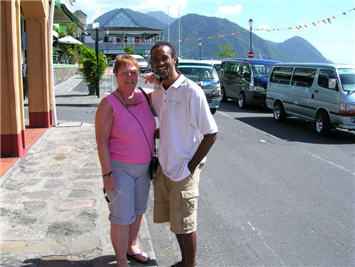 Dominica Island, Tour Guide Levi