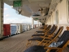 chairs promenade deck Maasdam