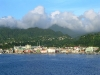 View of Dominica