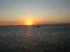 sunset near Aruba