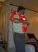 trying life jacket Maasdam