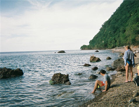 Champagne Reef in Dominica